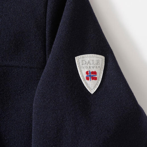 """Dale of Norway Knitshell-Jacke Funktional wie Softshell, edel wie Strick: """"Knitshell"""" von Dale of Norway. Seit 1956 Ausstatter des Olympischen Ski-Teams von Norwegen."""