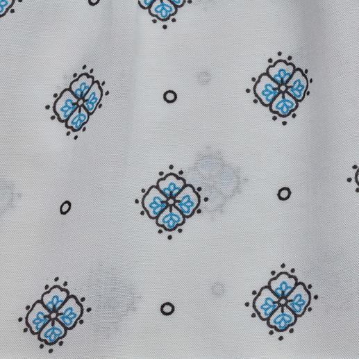Sly 010 Muster-Bluse Aktuelles Dessin. Zeitgemäßer Stoff. Und der bewährte Basic-Schnitt von Sly 010.