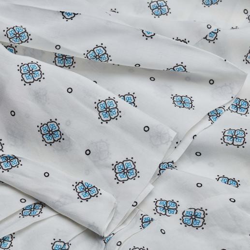 SLY010 Muster-Bluse Aktuelles Dessin. Zeitgemäßer Stoff. Und der bewährte Basic-Schnitt von SLY010.