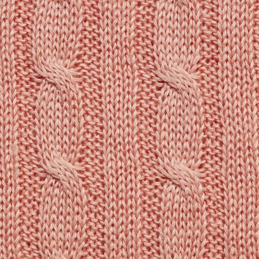 Carbery Leinen-Zopfpullover Aus luftigem Leinen in Irland gestrickt: der Zopfpullover auf sommerleichte Art. Von Carbery.