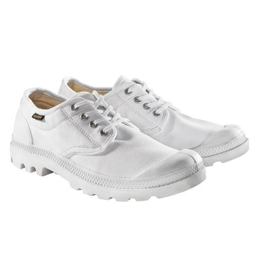 Kult seit 1947. Diesen Sommer wieder ein Must-have: Die Original Palladium Canvas-Sneaker. Kult seit 1947. Diesen Sommer wieder ein Must-have: Die Original Palladium Canvas-Sneaker.