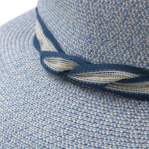 Mayser Bortenhut Endlich ein knautschbarer, koffertauglicher Sommerhut. Bortengenäht aus robusten Leinen- und Hanf-Fasern.