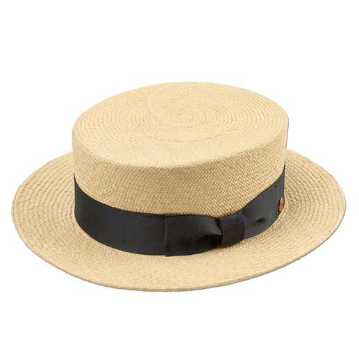 """Mayser Kreissäge - Die klassische """"Kreissäge"""" feiert modisches Comeback. Aus echtem Panamastroh, handgeflochten in Ecuador."""