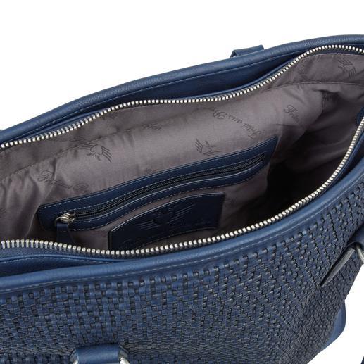 Fritzi aus Preußen Trolley-Shopper Die XL-Shopper-Bag mit verborgener Trolley-Funktion: Immer elegant. Ausreichend groß. Nie zu schwer.