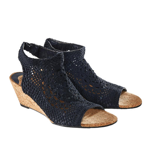 Wedges, Navy