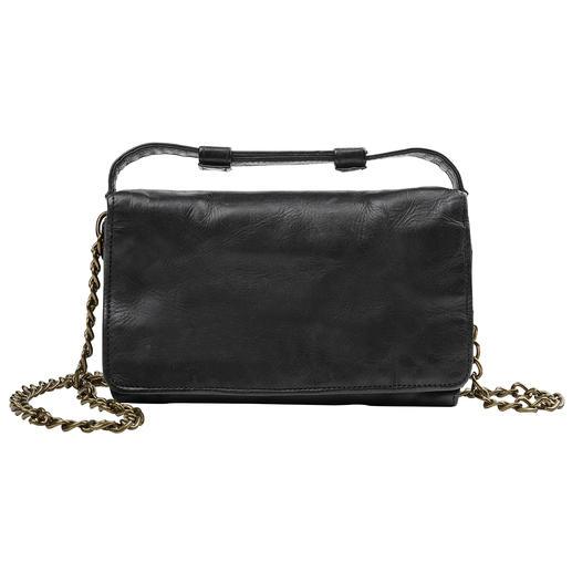 Desiderius 2-in-1-Mini-Bag Tagsüber Vintage-Brieftasche. Abends angesagt lässige Cross-Body-Bag. Vom deutschen Taschen-Spezialisten Desiderius.