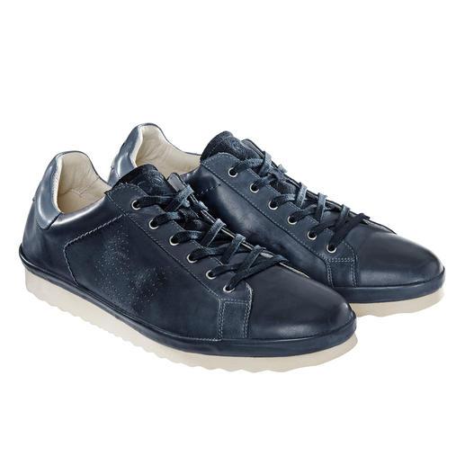 COM California- Ledersneaker Der Leder-Sneaker in rar gewordener California-Machart. Made in Portugal. Von COM.