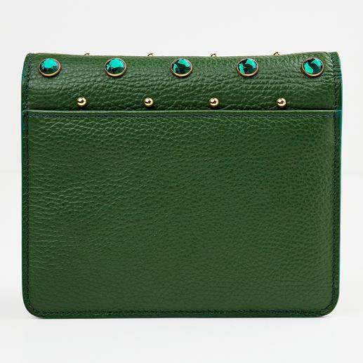 Cerruti 1881 Green Mini-Bag Trotz der Trendfarbe Grün hochelegant: die Mini-Bag von Cerruti 1881.