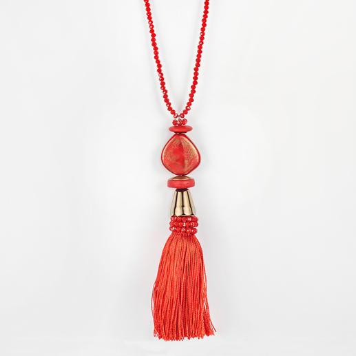 langani Quastenkette Modisch wegweisend: Quastenketten. Doch die von langani trägt bei weitem nicht jeder.