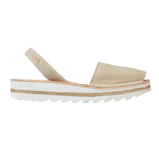 Avarcas de Menorca Die traditionelle Menorca-Sandale: Handgefertigt. Und in den heißesten Sommern bewährt.