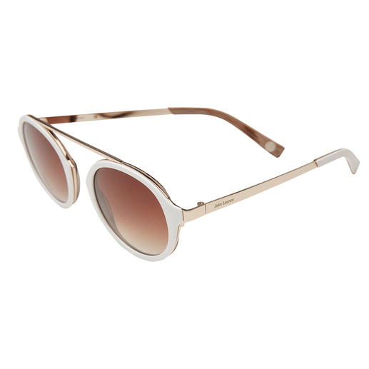 Cool-white-Sonnenbrille
