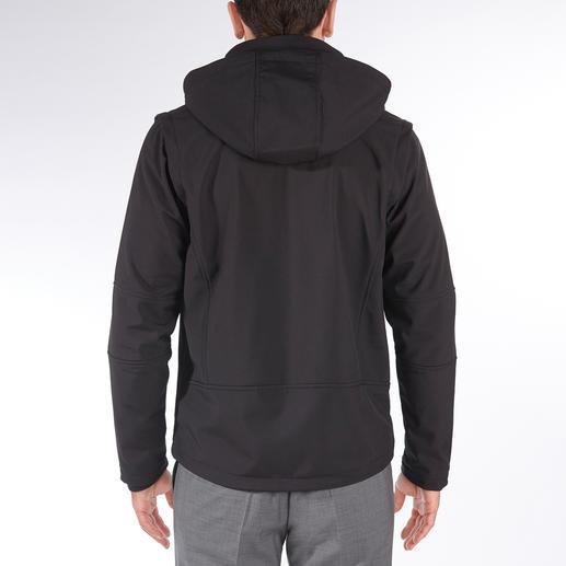 Soft Shell-Herrenjacke Die Jacke aus Soft Shell, mitWindProtect® von CMP: Schlank, leicht und trotzdem warm.