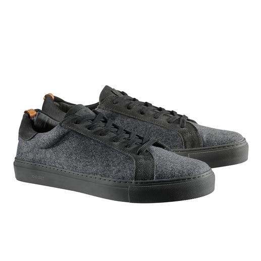 Hackett Woll-Sneakers - Aus edlem Anzugtuch: der elegante unter den sportiven Woll-Sneakers.