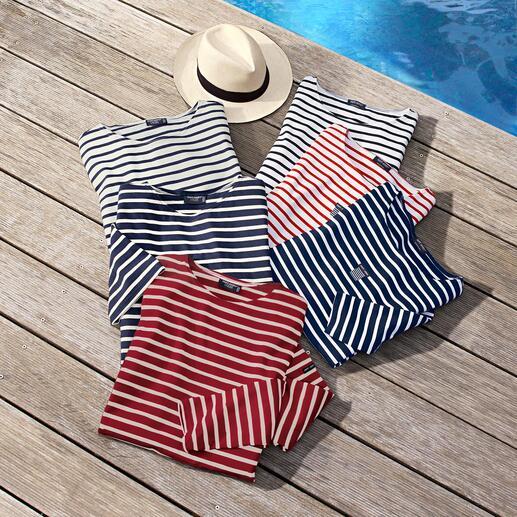 Herren-Bretagne-Langarm-Shirt oder T-Shirt