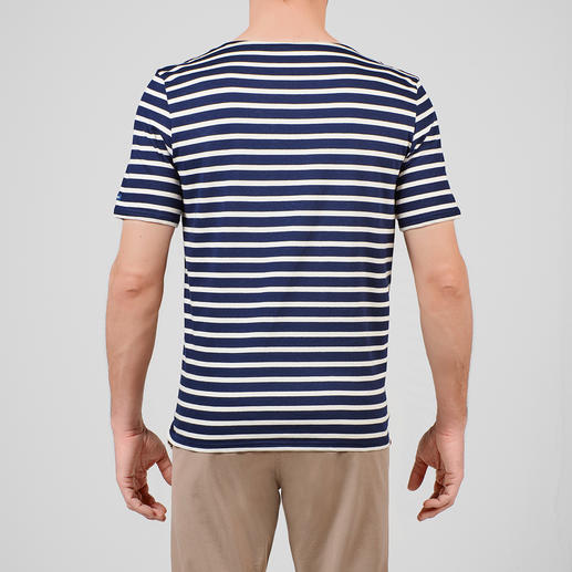 Herren-Bretagne-Langarm-Shirt oder T-Shirt Das original Bretagne-Shirt. Fischer-Tradition seit dem 19. Jahrhundert. Von Saint James/Frankreich.
