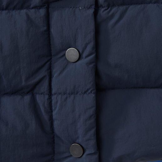 Swims Leichtdaunen-Sakko So stilvoll kann eine Daunenjacke sein: Sakko-Schnitt. Leichtdaunenfüllung. Flachsteppung. Von Swims/Norwegen.