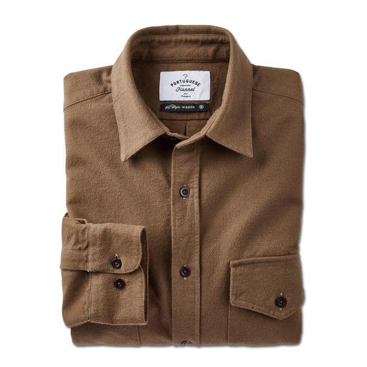 Portuguese Flannel Moleskin-Hemd - Das schlanke Moleskin-Hemd von Portuguese Flannel: weit entfernt von rustikaler Workwear.