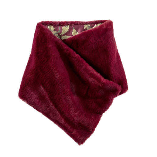Mason`s Fake-Fur-Schal 2-fach trendgerecht. Italienisches Design. Und doch nur 69,- Euro.