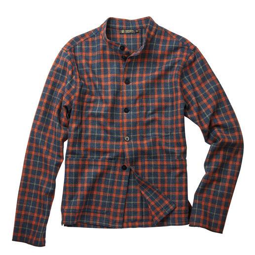Hollington Tyrol-Overshirt Trifft genau den Overshirt-Trend: Hollingtons klassisches Tyrol-Jacket. Legendäres Design. Modernes Karo.