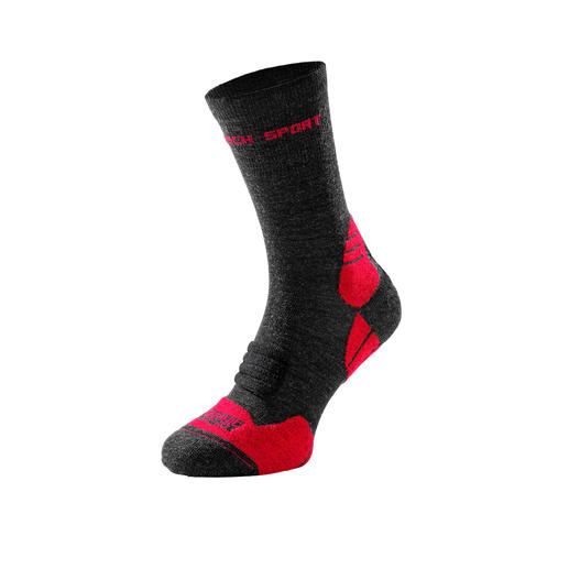 Die High-Performance-Sportsocken aus Bio-Merinowolle. Made in Germany. Von Hirsch Sports, Strumpf-Tradition seit 1928.
