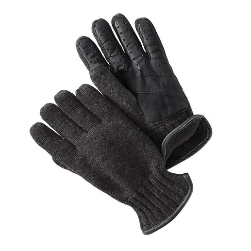 Nappa-Strickhandschuhe Warm und winddicht, elegant und elastisch. Von Otto Kessler, Handschuhmanufaktur seit 1923.