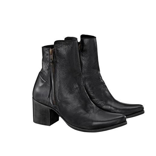 Liberty Black Cowboy-Boots Hippe Cowboy-Boots, handgefertigt und rahmengenäht in Mexiko.