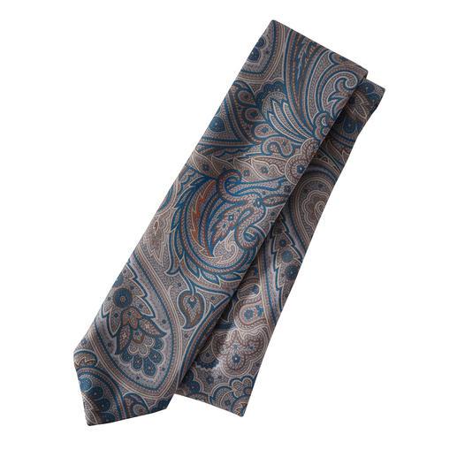 alpi Kombiwunder-Paisley-Krawatte Die eine Krawatte für (fast) alle Sakkos und Anzüge. Ihr Allrounder zu Beige, Braun, Blau, Grau, Schwarz.