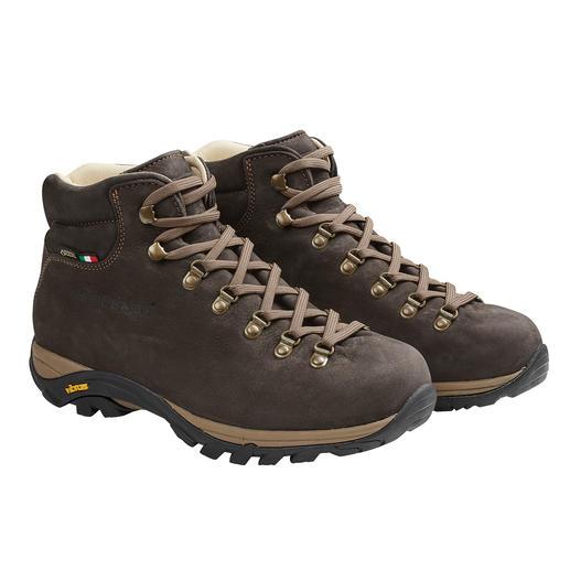 Zamberlan® Herren-Wanderstiefel Gut 300 Gramm leichter als andere Leder-Wanderschuhe. Und dank Gore-Tex® permanent wasserdicht.