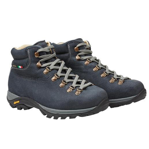 Die leichteren, permanent wasserdichten Leder-Wanderstiefel. Italienische Schuhmacherkunst von Zamberlan®.