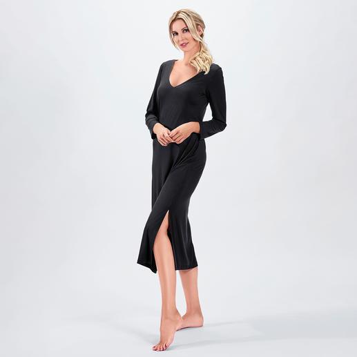 Bleyle Couture-Nachtkleid Ihr wohl elegantestes Nachtkleid. Fließender, hochelastischer Stoff. Modische Maxi-Länge.