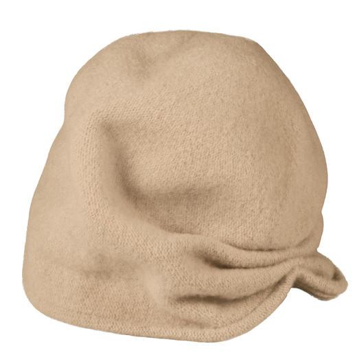 Loevenich 2-Varianten-Mütze 1 Mütze – 2 Looks: lässiger Beanie oder trendiger Turban.