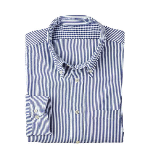 Brooks Brothers Seersucker-Hemd Das Seersucker-Hemd von Brooks Brothers – Amerikas berühmtestem Herrenausstatter seit 1818.