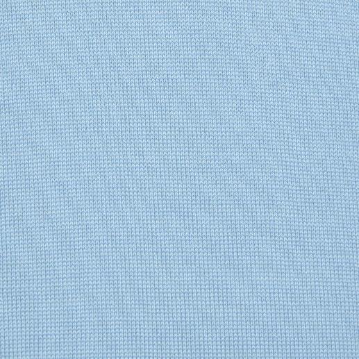 V-Ausschnitt, Hellblau