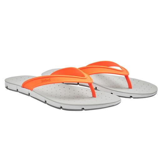 """SWIMS Bade-Sandale """"Breeze"""" Die Badesandale """"Breeze"""" bringt sogar Luft von unten an Ihre Sohlen. Rundum Open-Air für Ihre Füße."""