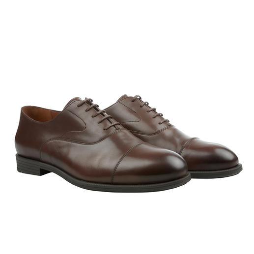 Fliteless Business Comfort Oxford-Schuh oder Brogue-Schuh Der Business-Schuh mit dem Komfort eines Freizeit-Schuhs. Von Fliteless/Norwegen.