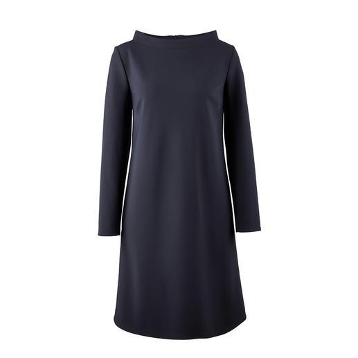 Barbara Schwarzer A-Linien-Kleid Das klassische A-Linien-Kleid aus innovativem, italienischem Euro-Jersey.