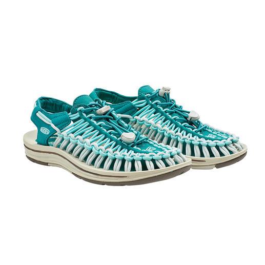 KEEN® Outdoor-Sandale Uneek™, Damen 2 Schnüre + 1 Sohle = die derzeit wohl innovativste Outdoor-Sandale.