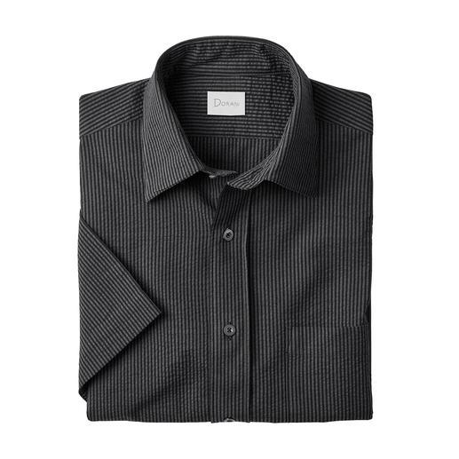 Seersucker-Hemd, Kurz- oder Langarm Luftiges Seersucker-Gewebe. Klassischer Streifen. Und doch nicht zu sportiv. Das perfekte Hemd zu Smart-Casual-Outfits.