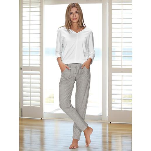 HFor Sweatshirt oder Sweat-Pants - Herrlich bequem. Trendgerecht straßentauglich. Der Loungewear-Anzug vom belgischen Newcomer-Label HFor.