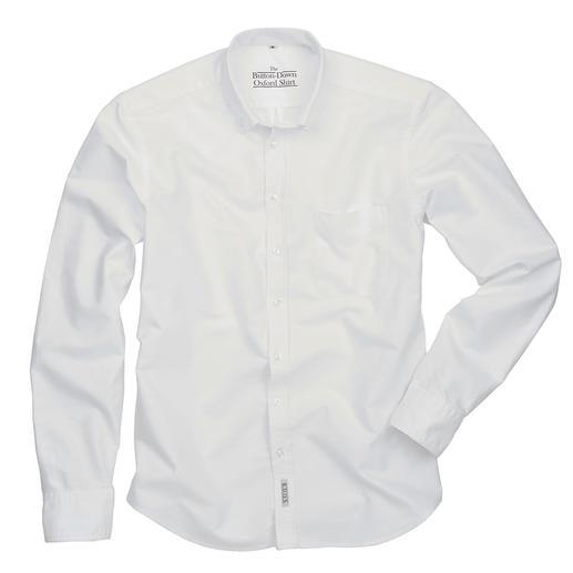 The BDO-Shirt, Weiß, Slim Fit Entdecken Sie einen guten alten Freund. Und vergessen Sie, dass ein Hemd gebügelt werden muss.
