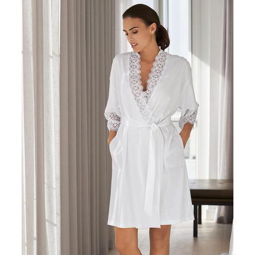 Rösch Spitzen-Kimono Die leichte, feminine Alternative zum Bademantel vom deutschen Nacht- und Loungewear-Spezialisten.