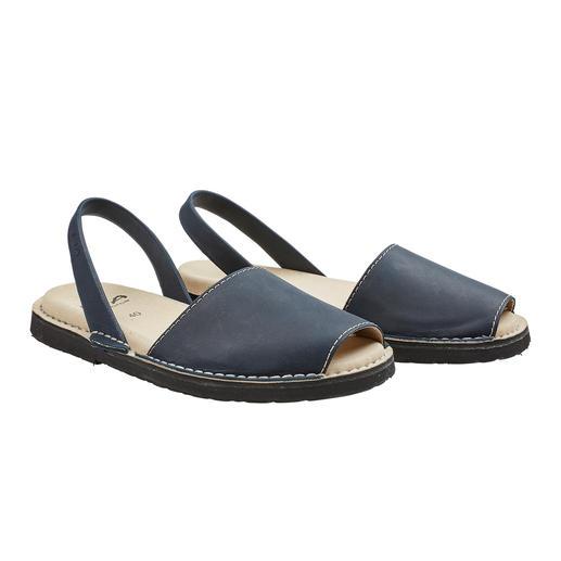 Avarcas de Menorca, Herren Die traditionelle Menorca-Sandale: Handgefertigt. Und in den heißesten Sommern bewährt. Original Avarcas von RIA.