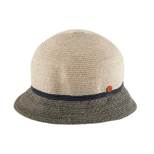Der Cloche-Hut der 20er-Jahre – wieder en vogue. Flexibler und strapazierfähiger als die meisten. Bortengenäht aus robusten Leinen- und Hanf-Fasern. Von Mayser, Hutmanufaktur seit 1800.