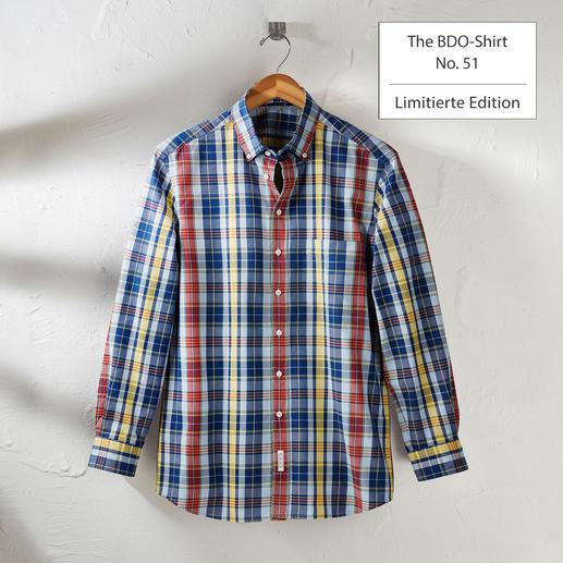 The BDO-Shirt, Limited Edition No. 51 Entdecken Sie einen guten alten Freund. Und vergessen Sie, dass ein Hemd gebügelt werden muss.