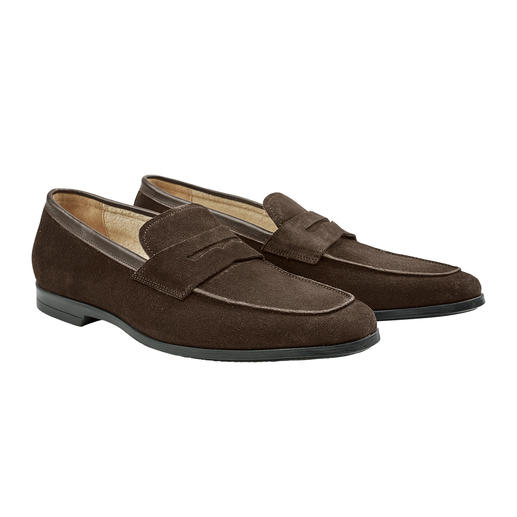 Barfuß-Mokassin Weiches, saugstarkes Frottee-Futter macht diesen Mokassin zum idealen Barfuß-Schuh.