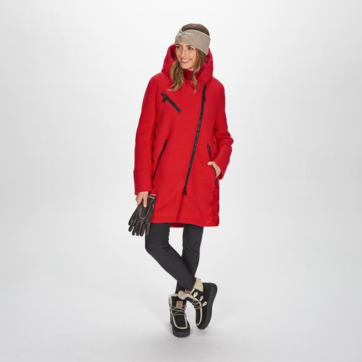 Goldbergh Sports-Couture-Parka und Softshell-Steghose Sportliche Streetwear oder Stylishe Sportswear? Beides! Vom niederländischen Fashion-Press-Liebling Goldbergh.
