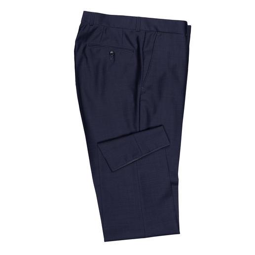 Anzughose, Blau