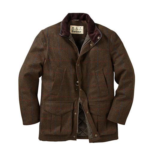 Barbour Hunting Jacket 2.0 Ein Gentleman-Klassiker auf dem neuesten Stand: das Hunting Jacket aus wasserdichtem Tweed.
