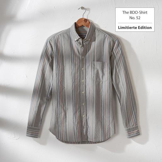The BDO-Shirt, Limited Edition No. 52 Entdecken Sie einen guten alten Freund. Und vergessen Sie, dass ein Hemd gebügelt werden muss.