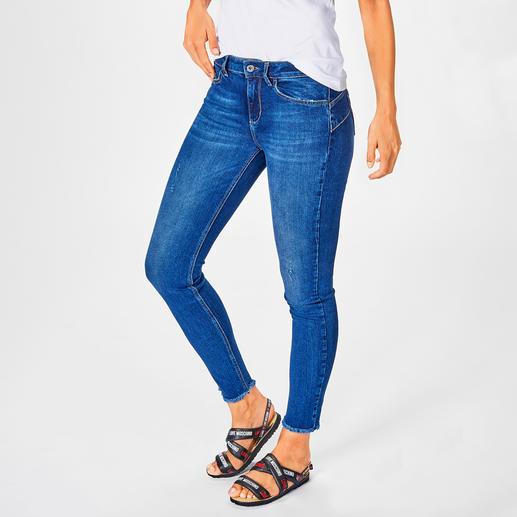 Liu Jo Bottom up Better Denim-Jeans Der bewährte Liu Jo Knack-Po-Effekt – erstmals aus ökologisch nachhaltigem Denim.